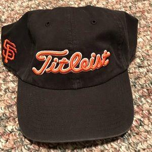 Titleist golf hat. San Francisco Giants